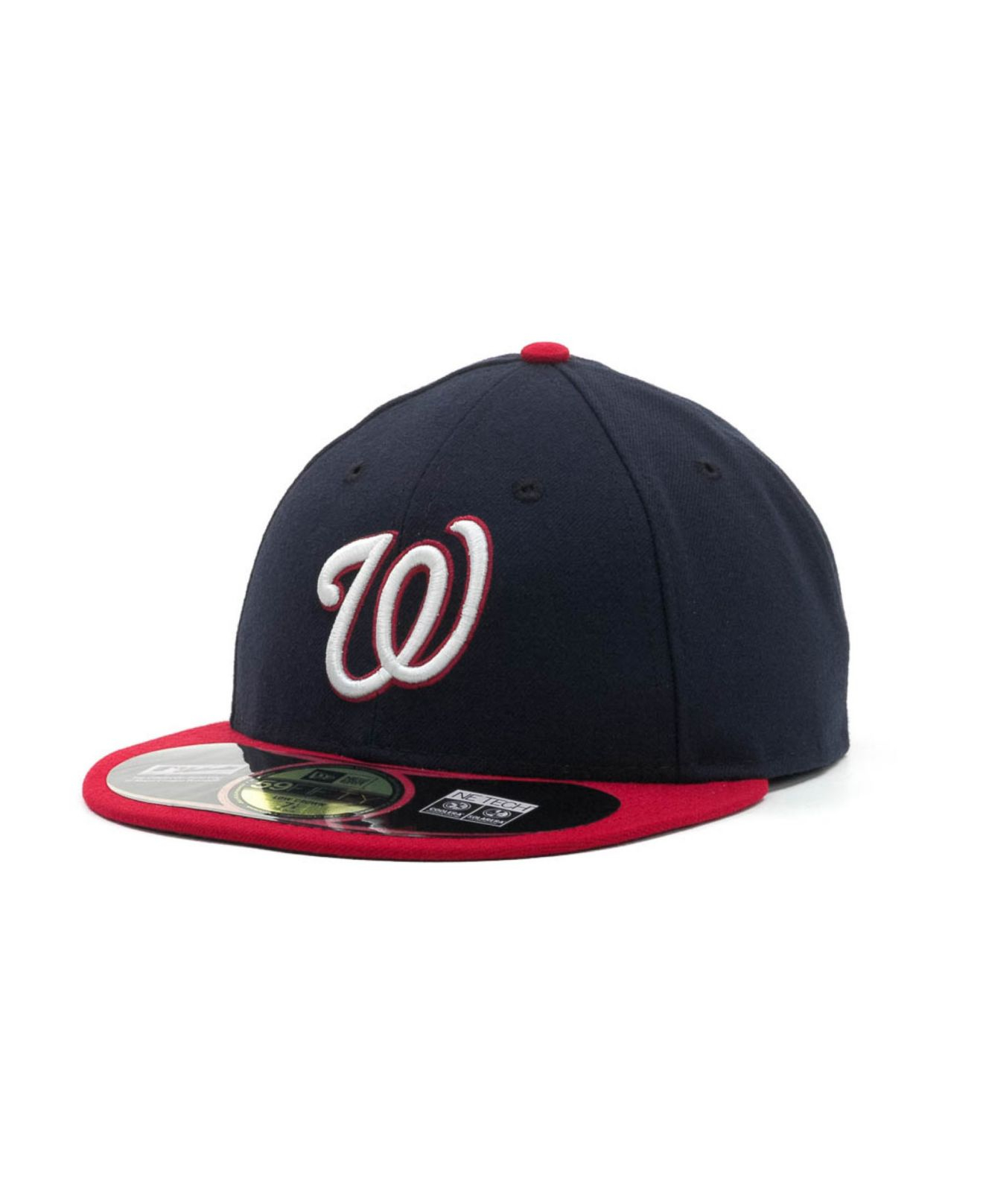 competitive price 8f93d 523dc ... inexpensive lyst ktz washington nationals low crown ac performance 59fifty  cap c087d 55b98