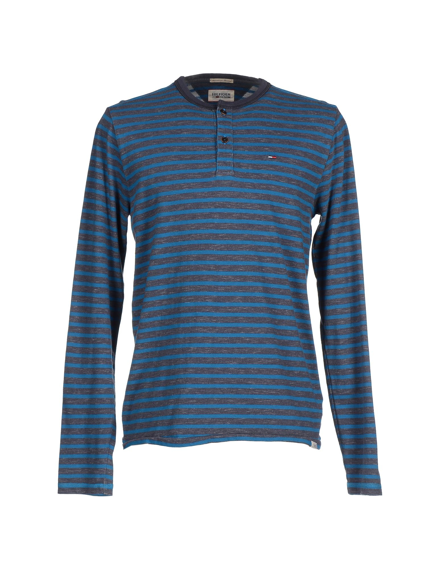 hilfiger denim t shirt in blue for men lyst. Black Bedroom Furniture Sets. Home Design Ideas