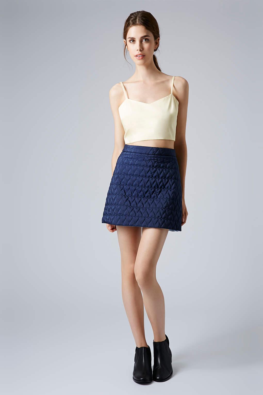 Navy blue skirt a line – Modern skirts blog for you