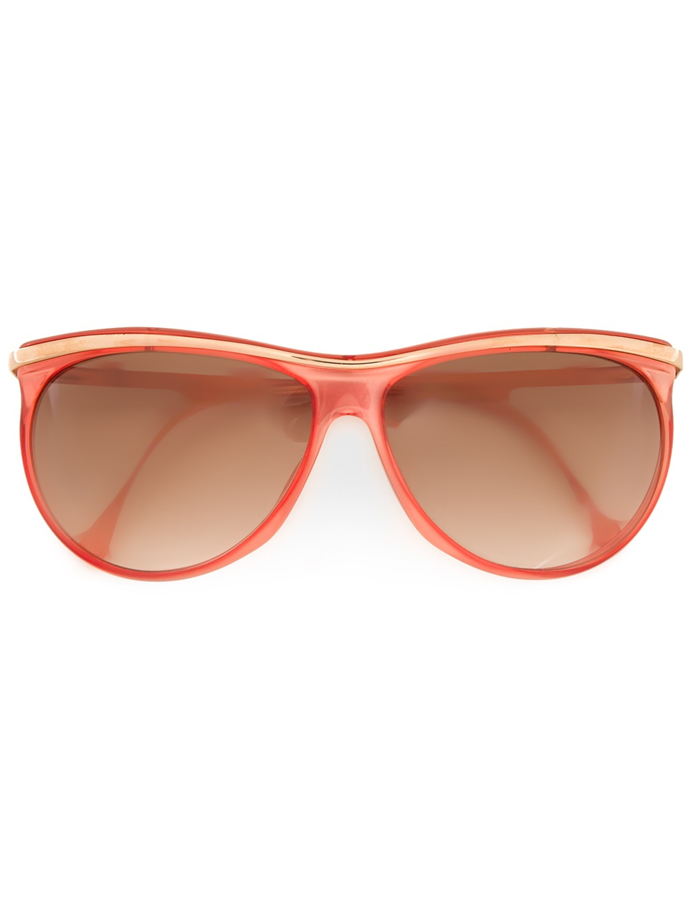 Versace Butterfly Frame Sunglasses in Red