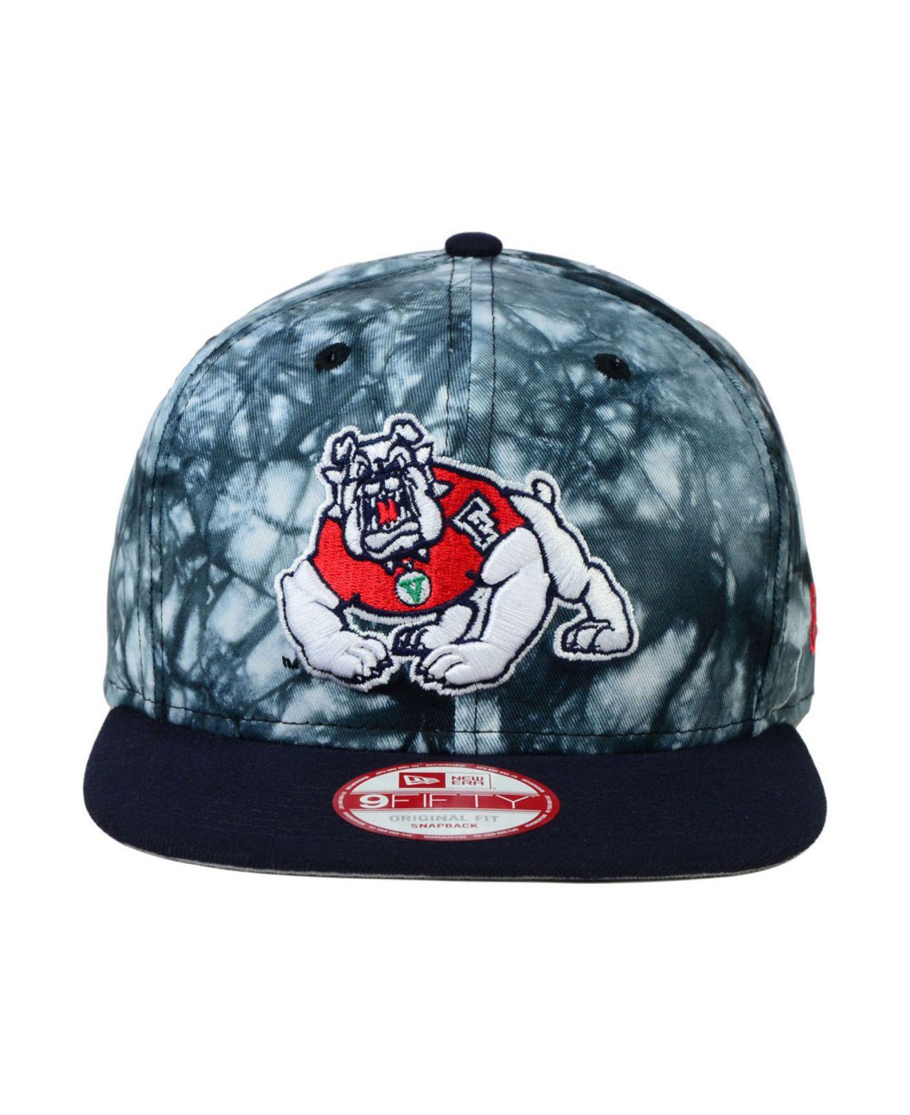 c3c133c98d2 Lyst - KTZ Fresno State Bulldogs Overcast 9fifty Snapback Cap in ...