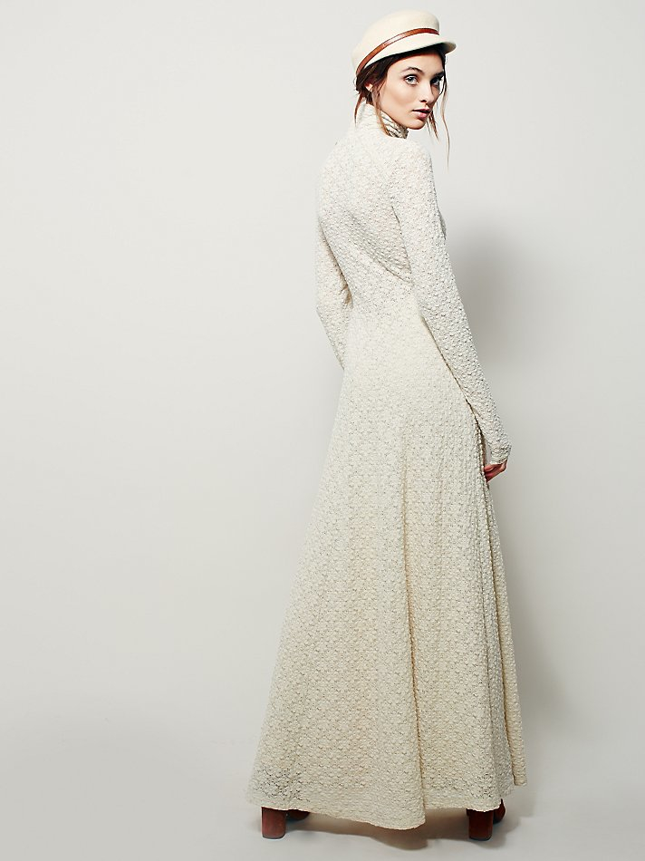51bc82ed601 Free People Womens White River Maxi in Natural - Lyst