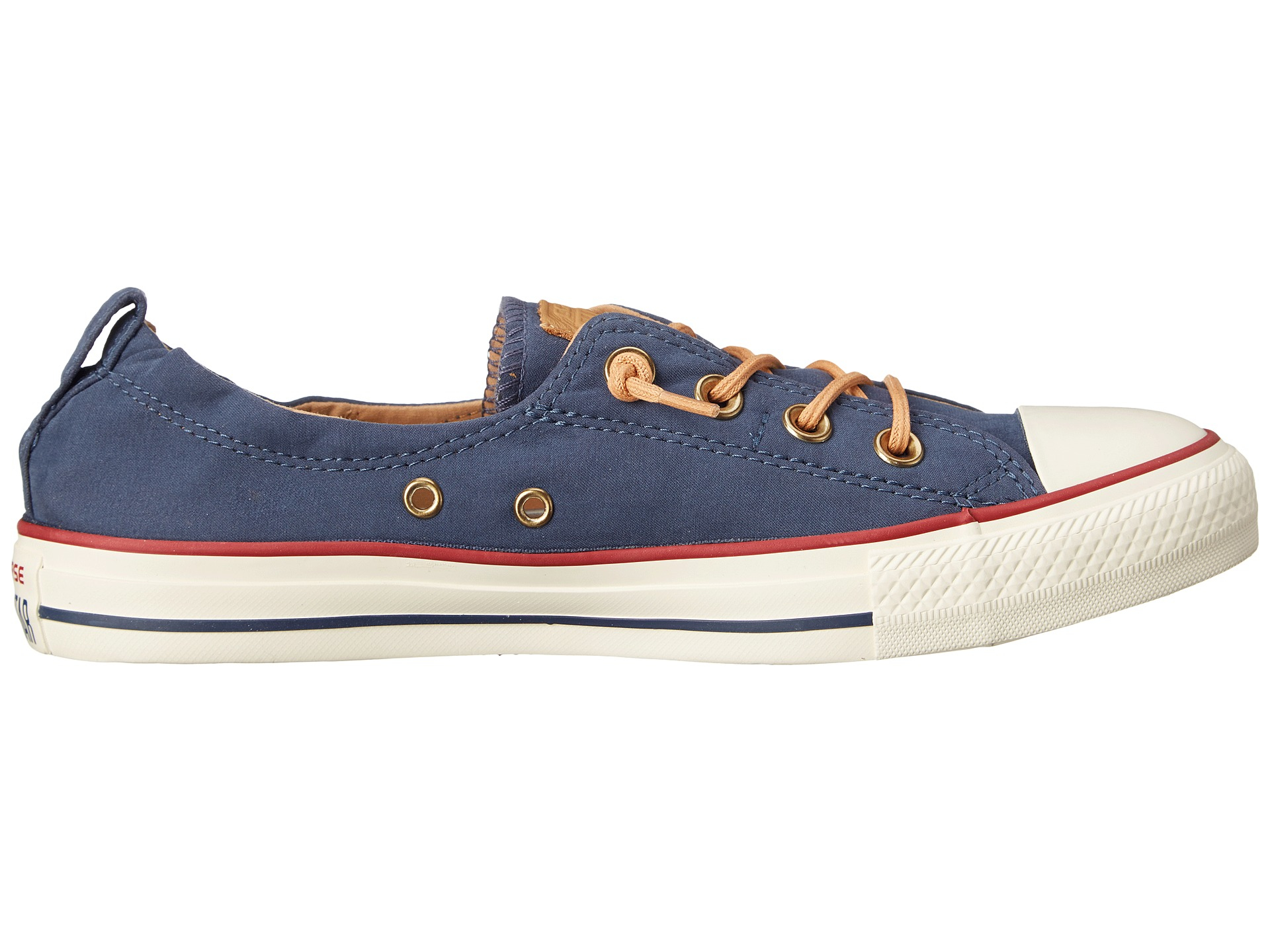 Lyst - Converse Chuck Taylor® All Star® Shoreline Peached Canvas in Blue 98d159d62