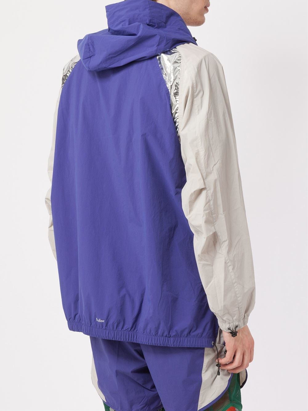 adidas Kolor X Hooded Jacket in Blue for Men
