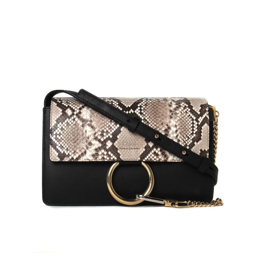 chloe imitation bags - chloe faye python and leather clutch bag, chloe inspired handbags