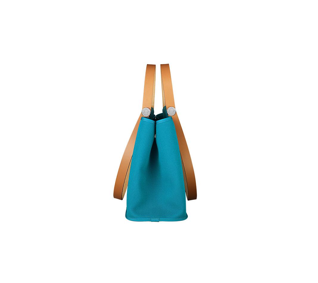 birkins bag price - Herm��s Cabag Elan in Blue (BLEU IZMIR/NATURE) | Lyst