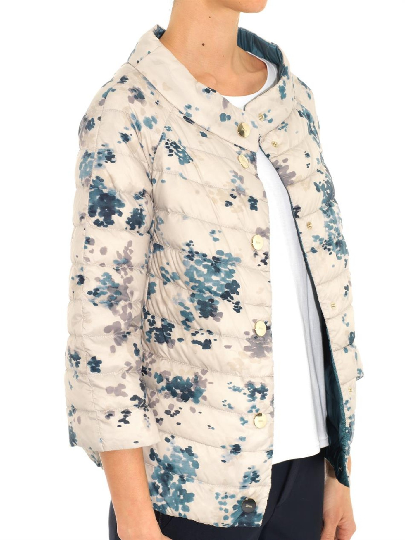 Lyst Herno Reversible Lightweight Quilted Down Jacket In