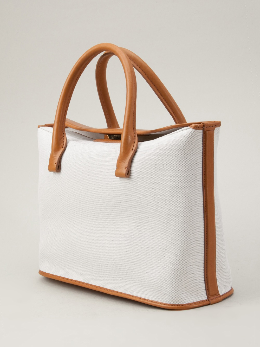 The Row Carry All 12 Bag In White Lyst