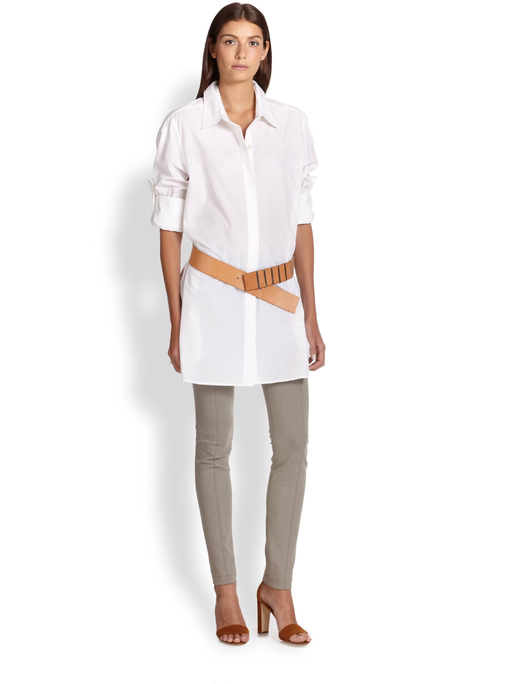 Find long sleeve button down tunic at ShopStyle. Shop the latest collection of long sleeve button down tunic from the most popular stores - all in one.
