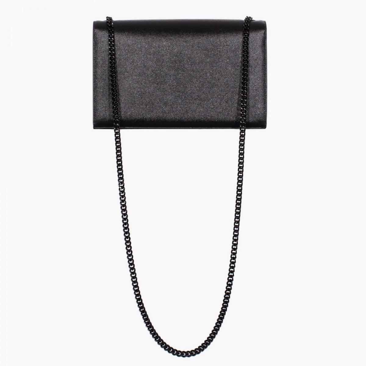 buy yves saint laurent - classic small monogram saint laurent camera bag in black grain de ...