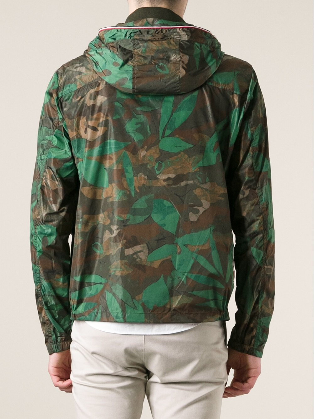 Moncler Nath Camouflage Jacket In Green For Men Lyst