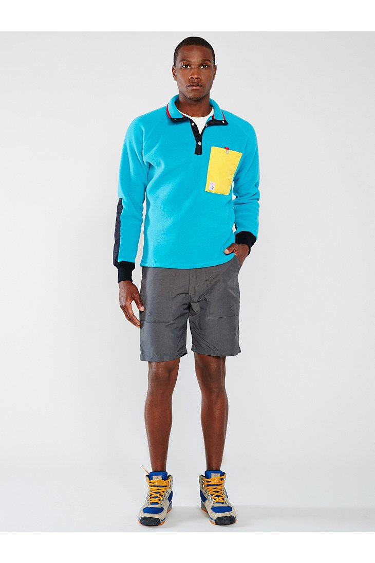 Lyst - Topo designs Fleece Jacket in Blue for Men