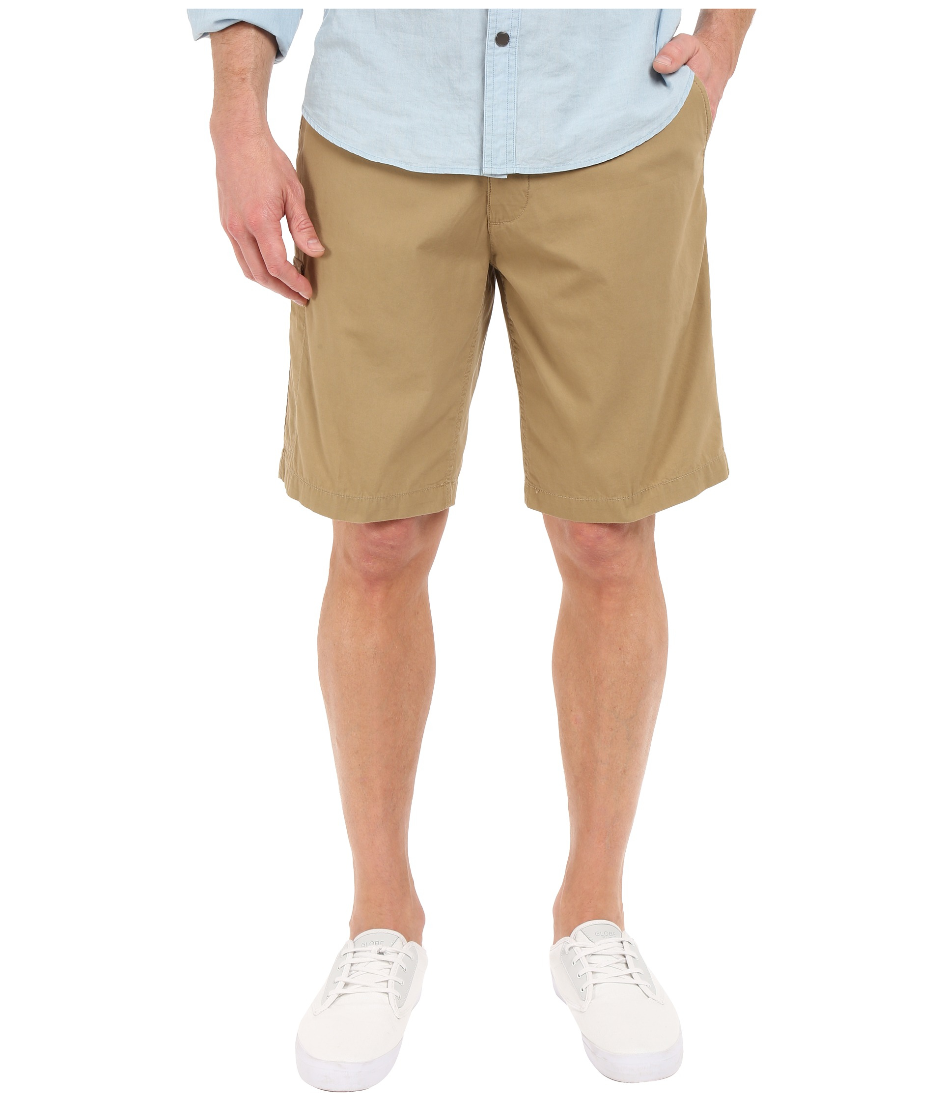 Dockers New On The Go Shorts in Natural for Men | Lyst