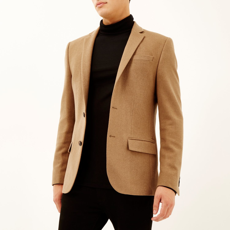 Camel Wool Blazer