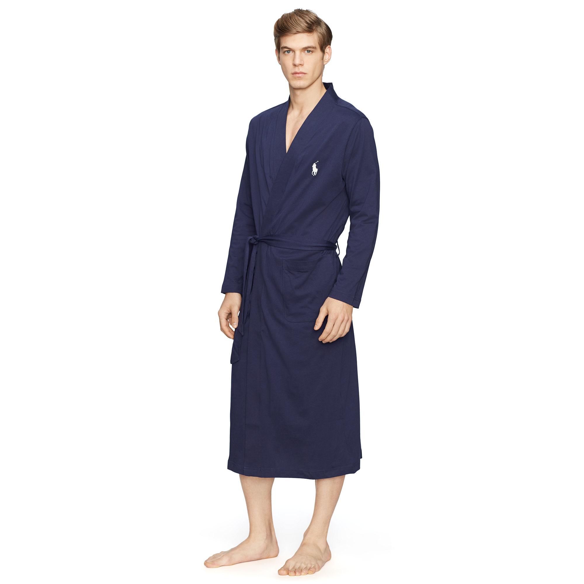 Robe In Polo Blue Ralph For Lyst Kimono Men Lauren rBhQCsxtd