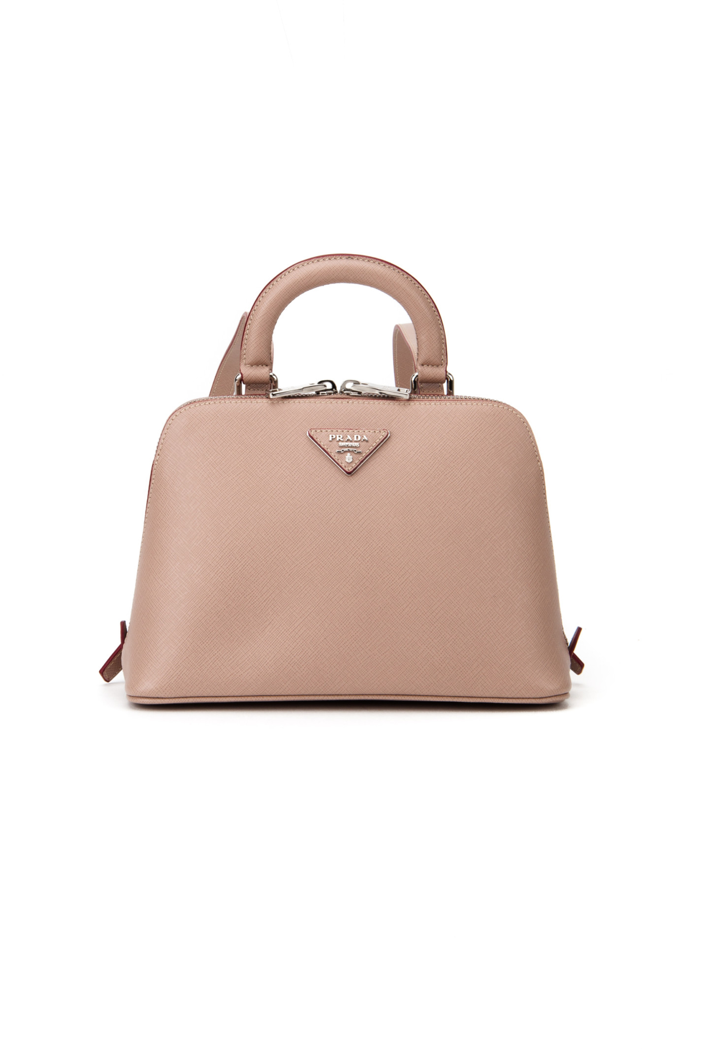 Prada Lux Saffiano Bag in Brown (CAMMEO R) | Lyst