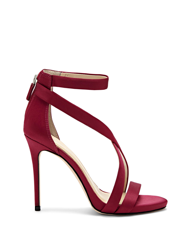 Vince Camuto Women's Paill Satin Crisscross High Heel Sandals qn5nfTH6i5