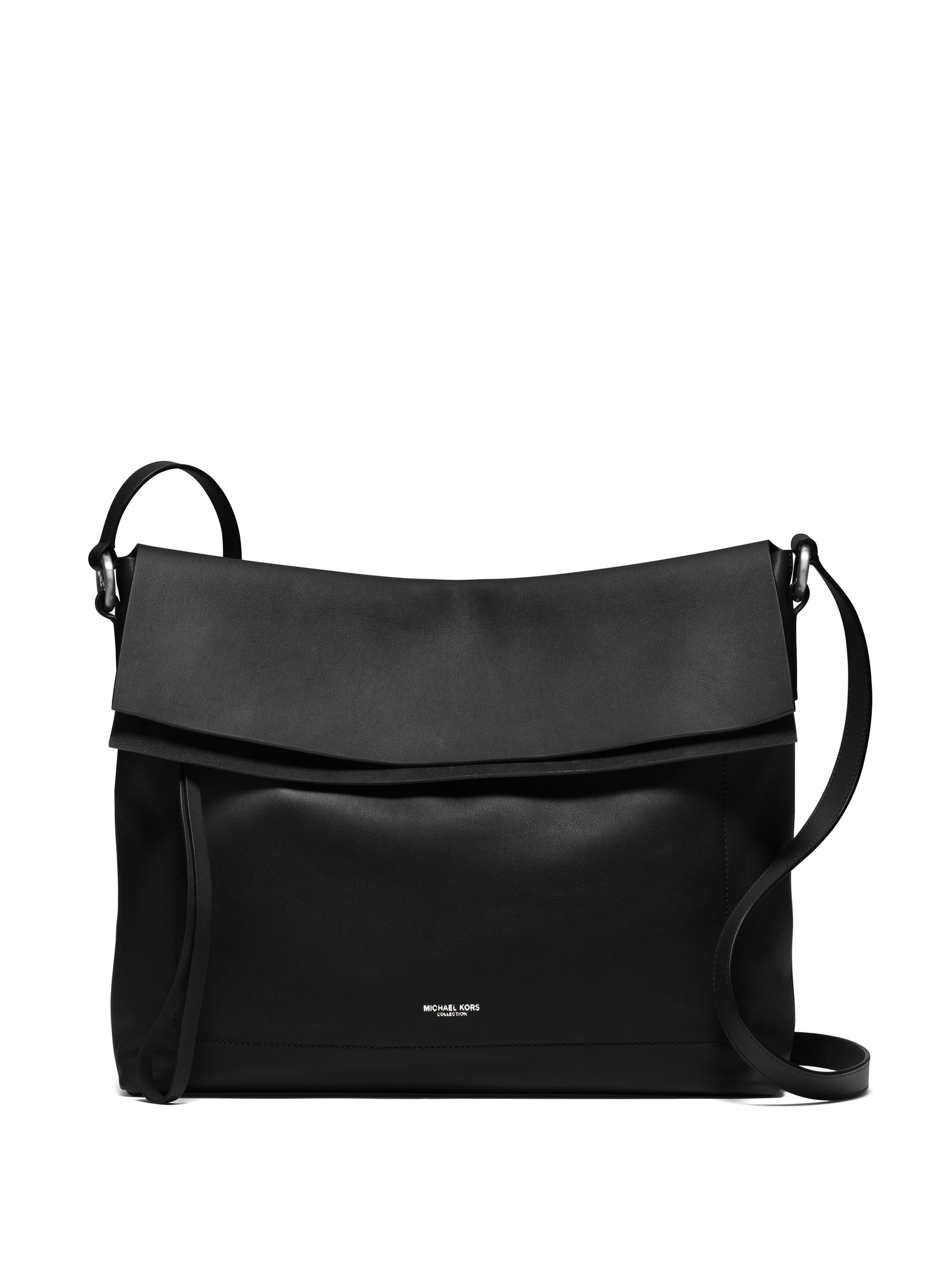 Michael kors Sedona Large Messenger Bag in Black | Lyst