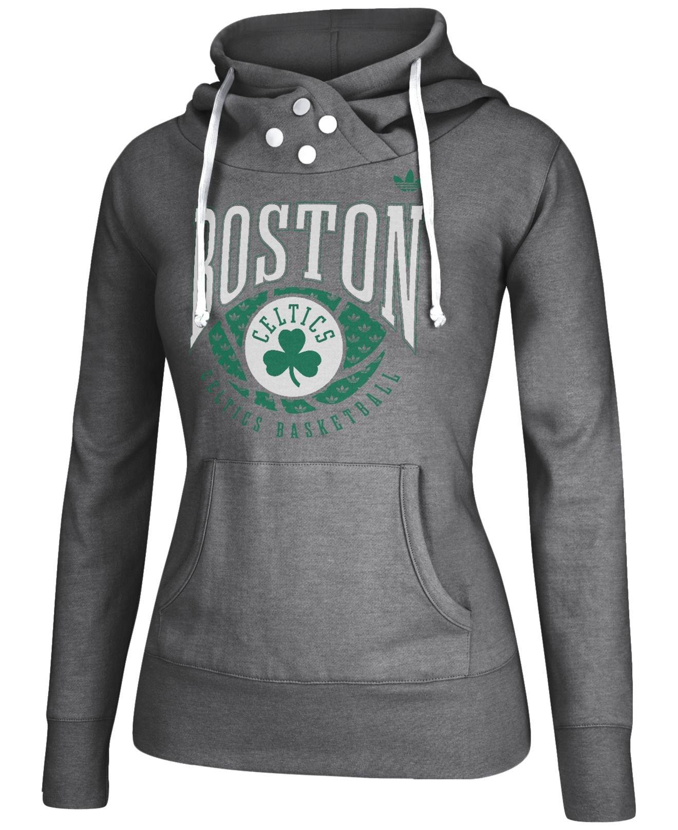 quality design dd7fb 76a36 Gray Women'S Boston Celtics Ballin Hoodie