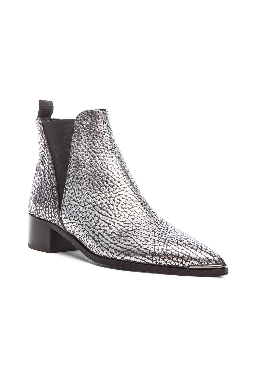 d501d1e51 Acne Studios Metallic Leather Jensen Boots in Metallic - Lyst