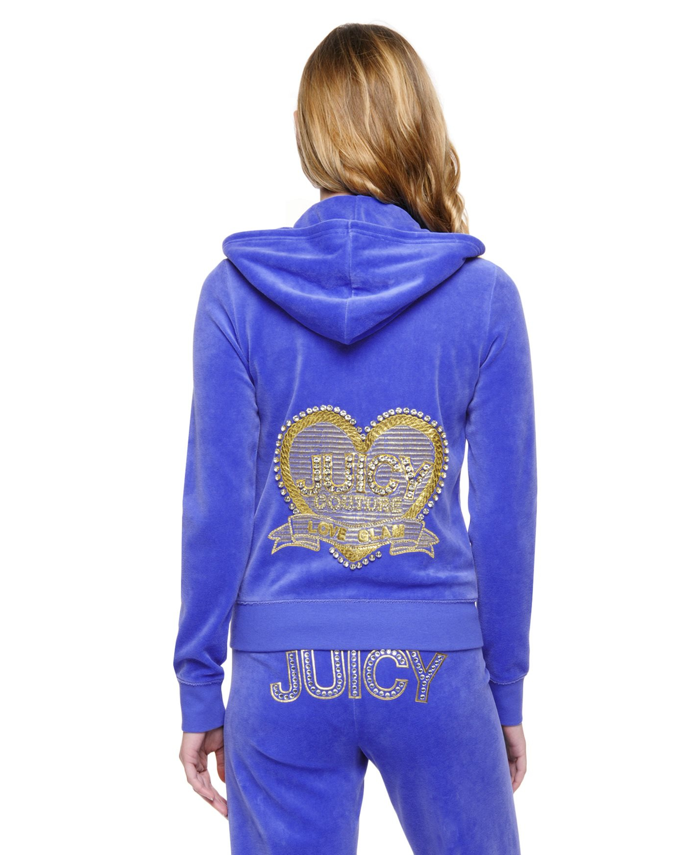 Juicy couture Logo Velour Love & Glam Original Jacket in ...