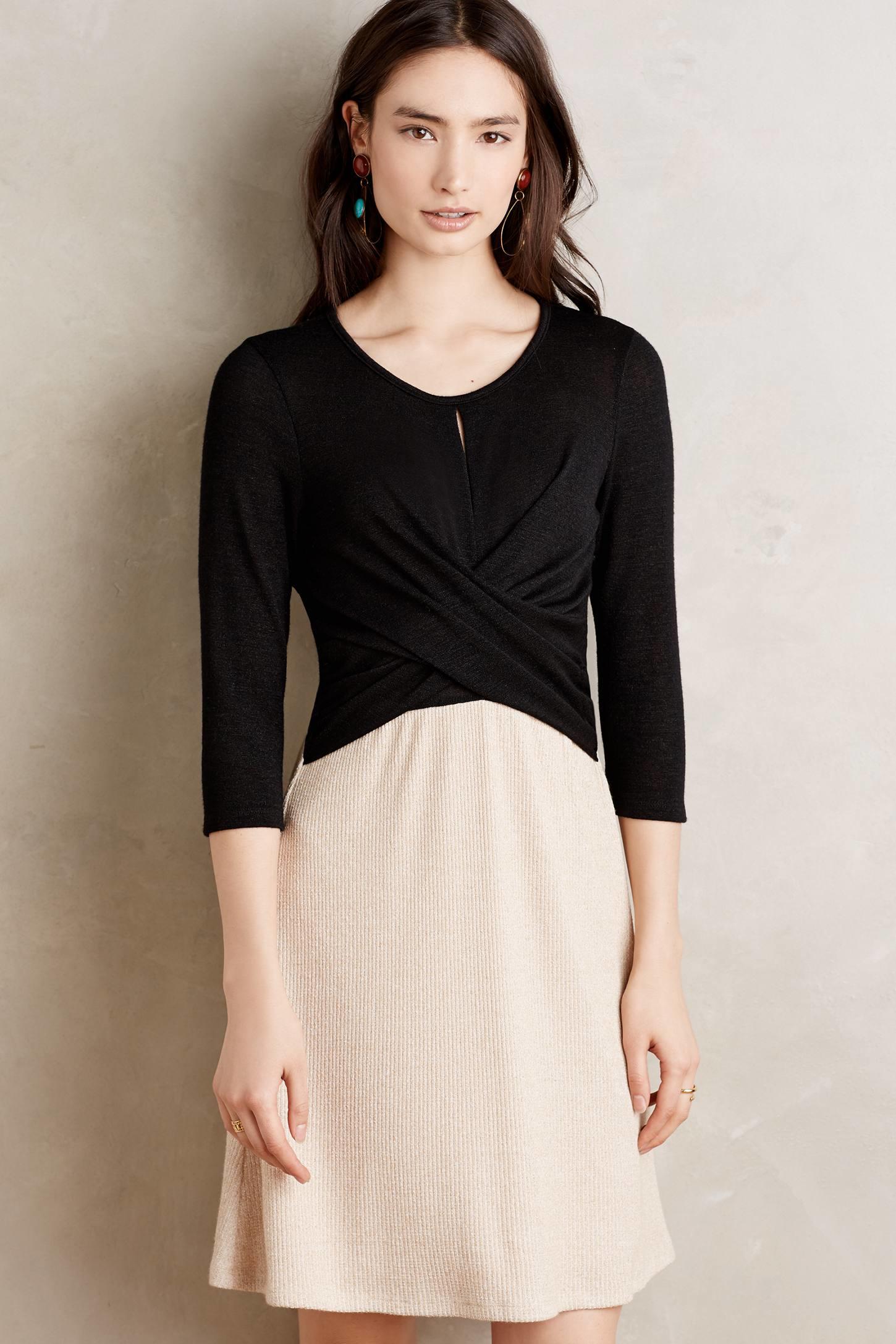 Amadi Crosswrap Dress In Natural Lyst