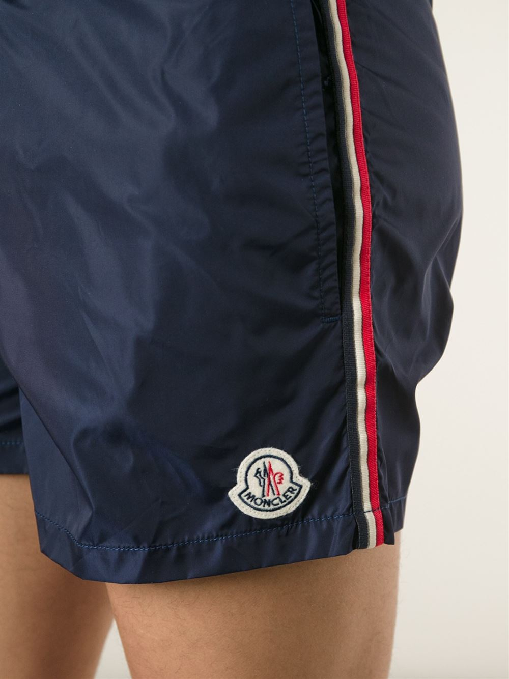 farfetch moncler swim shorts