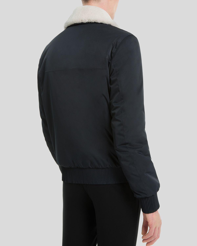 950f1c387 Sandro Blue Flight Jacket for men