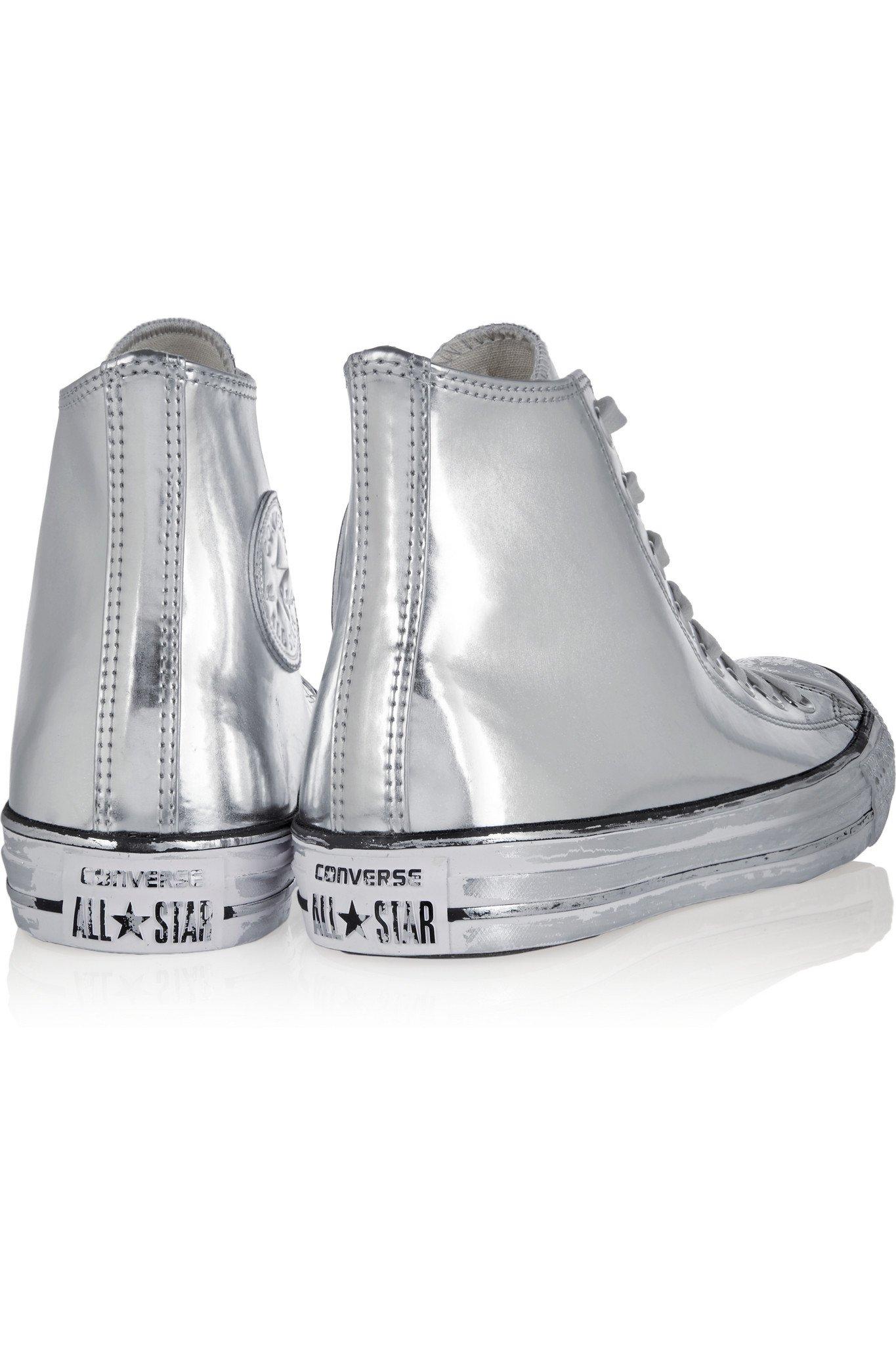 Converse Chuck Taylor All Star Chrome Metallic Leather
