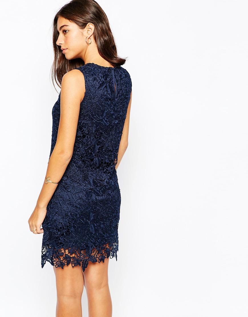 Laces Blue Dresses With Shoes