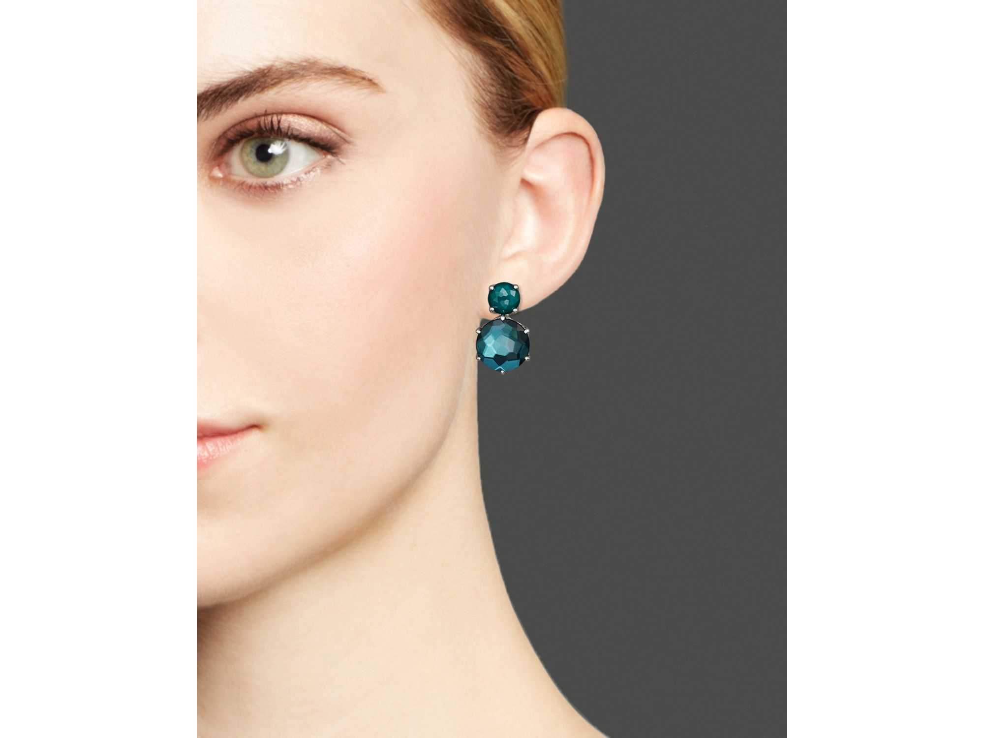 Ippolita Rock Candy Two-Stone Earrings gkGscuI