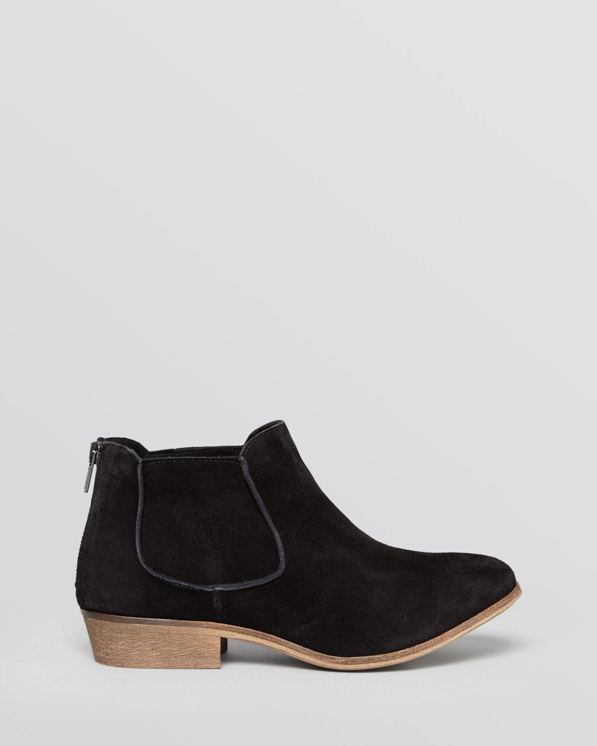 House of Harlow 1960 1960 Flat Booties - Blaire in Navy (Black)