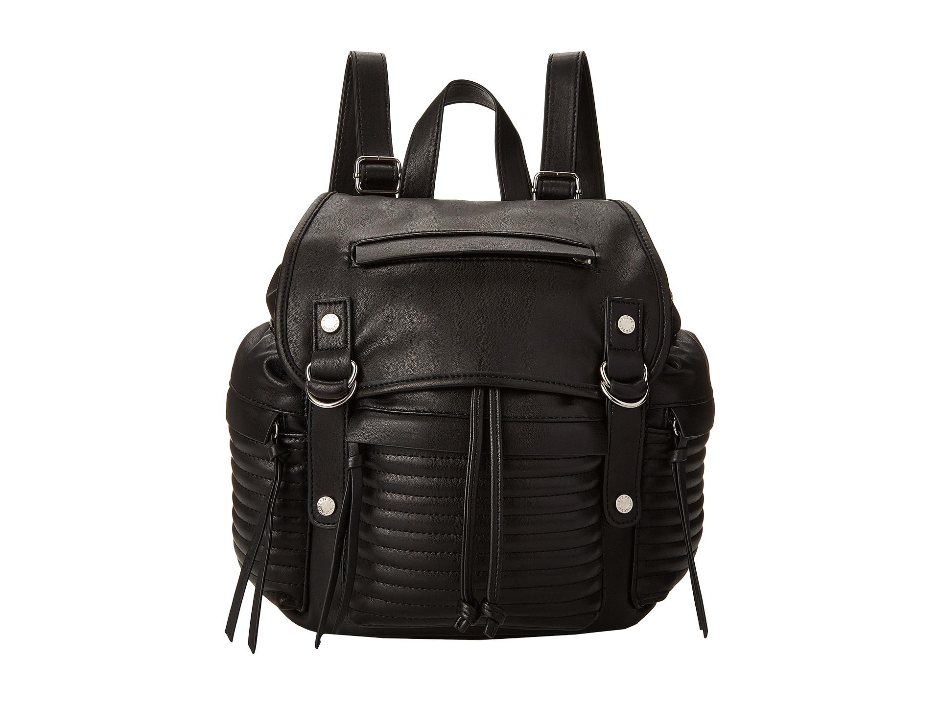 Steve Madden Broller Quilted Backpack In Black Lyst