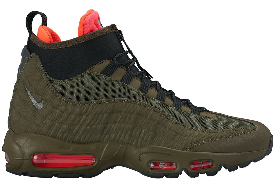 Lyst Nike Air Max 95 Sneakerboot In Green For Men