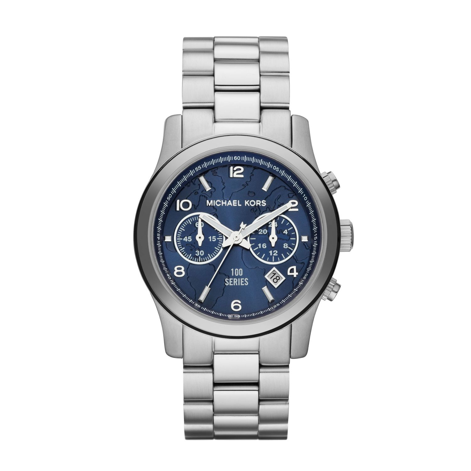 Michael kors Watch Hunger Stop Runway Silver-tone Watch in ...