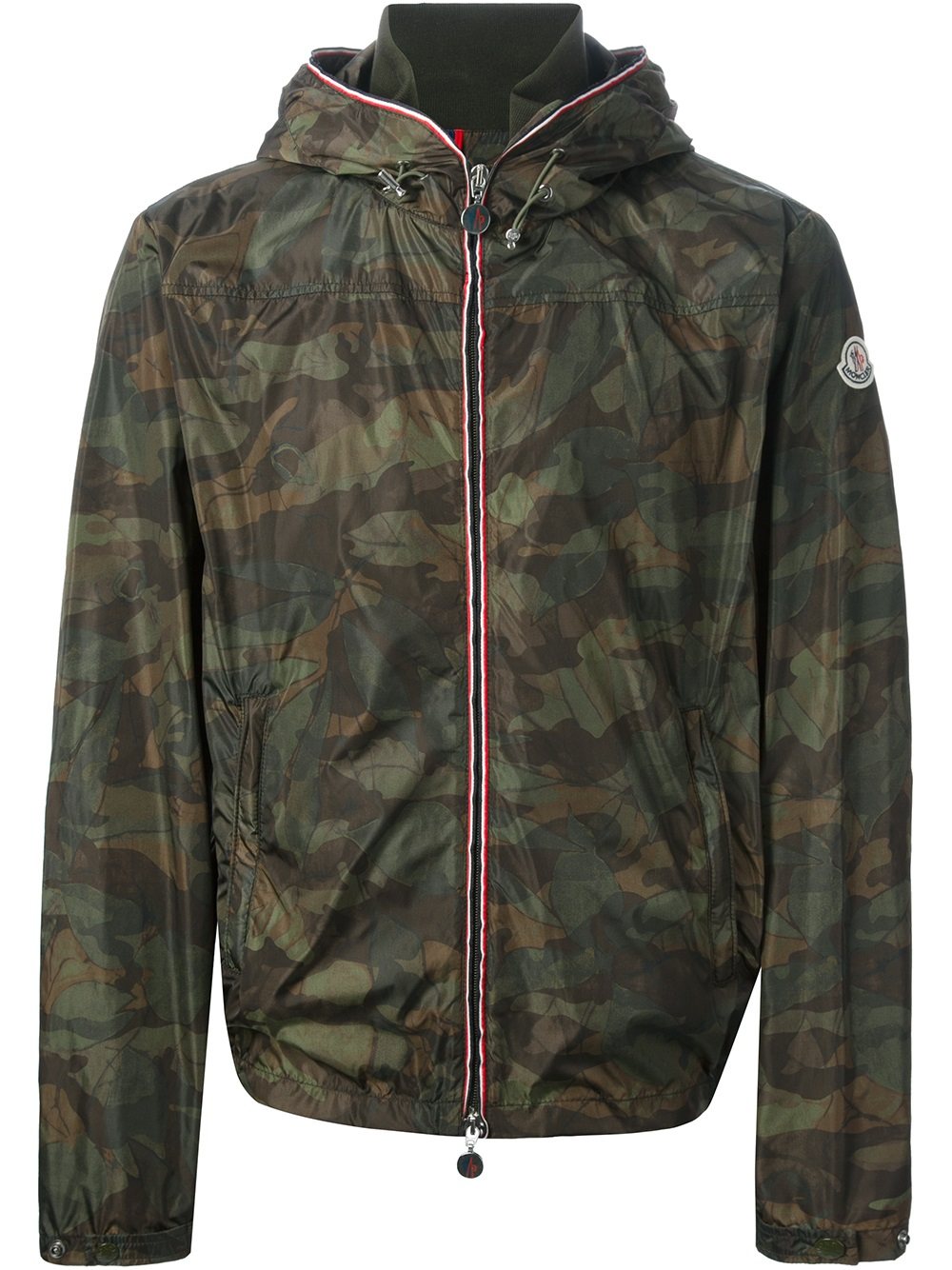Lyst Moncler Camouflage Print Jacket In Green For Men