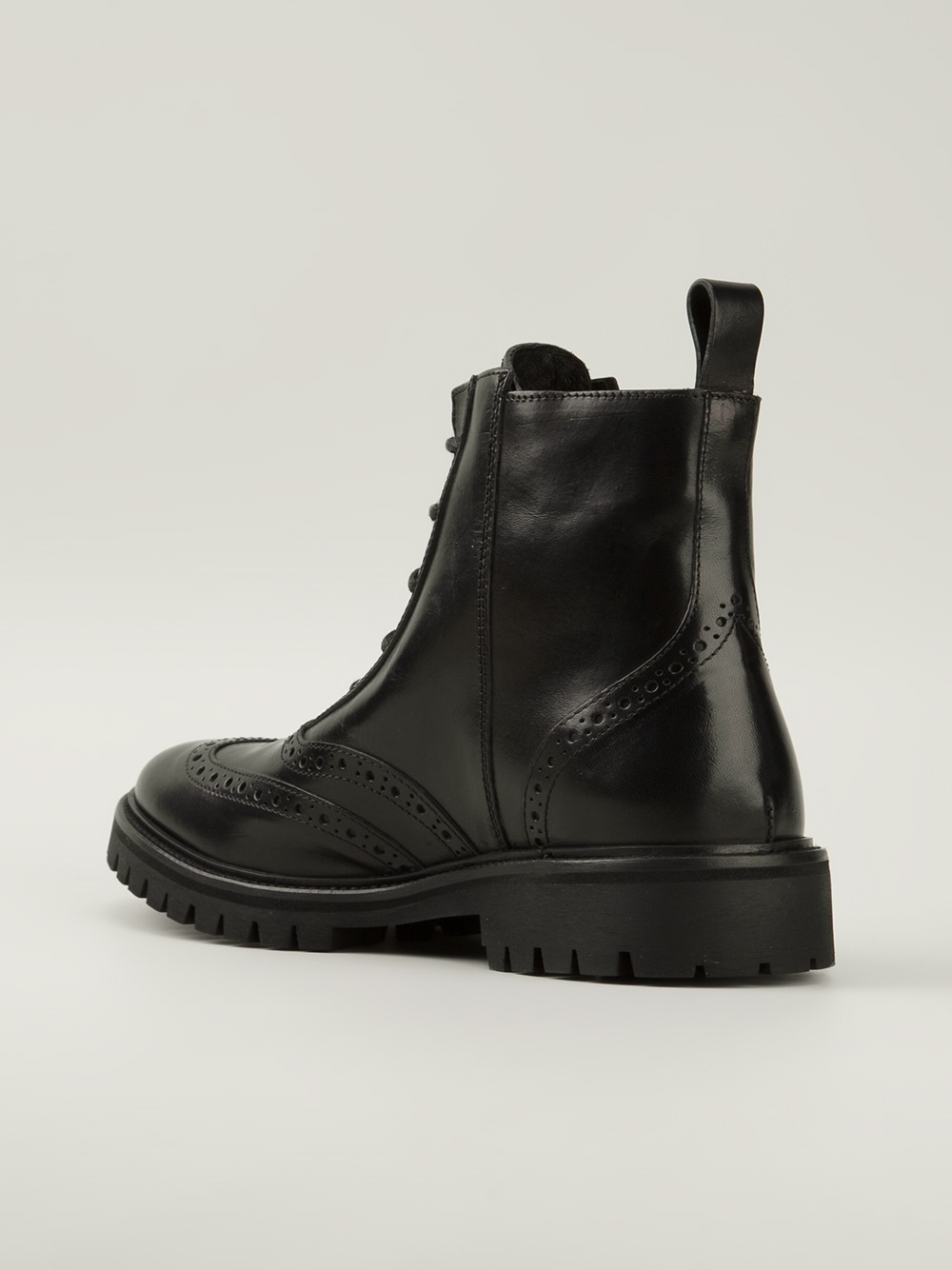 Diesel Black Gold Chief Boots In Black For Men Lyst