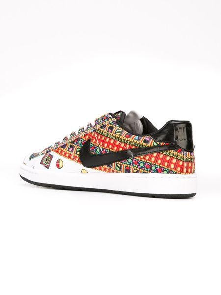 nike liberty tennis classic ultra sneakers in multicolor