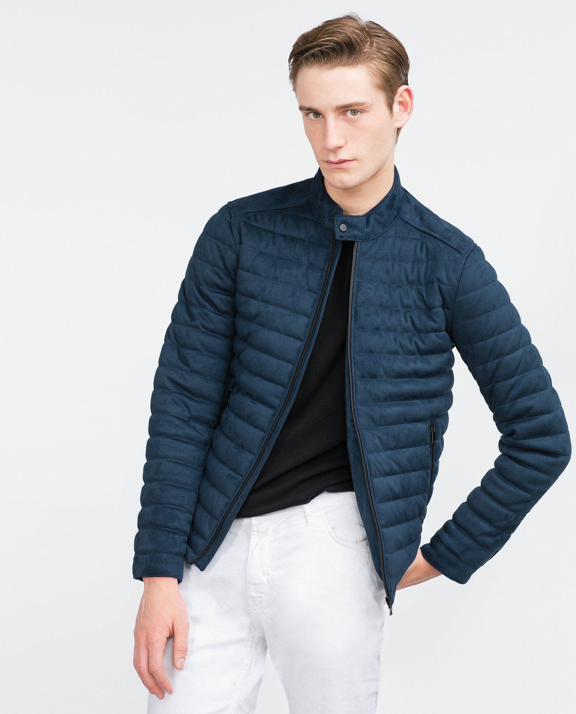 Authentic Authentic Faux Man Man Back Bnwt Jacket Leather Zara Black