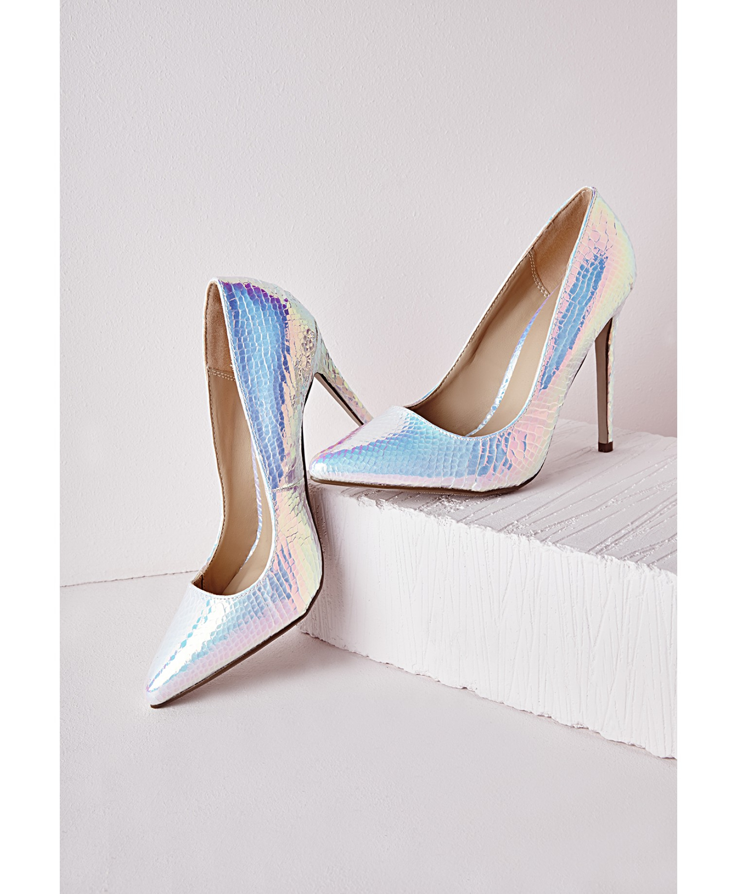 Missguided Stiletto Heel Court Shoes