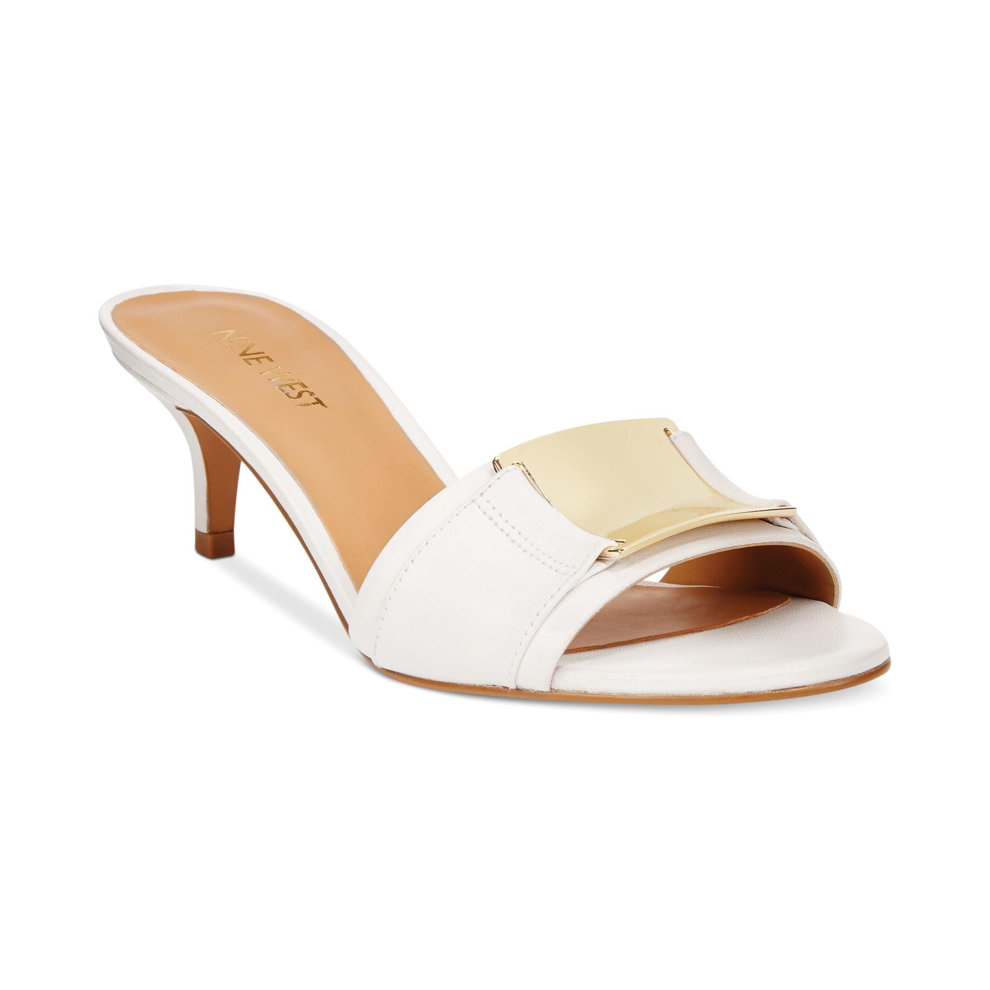 492ac286ce28 Blue Sandals  Nine West Yacht Slide Sandals