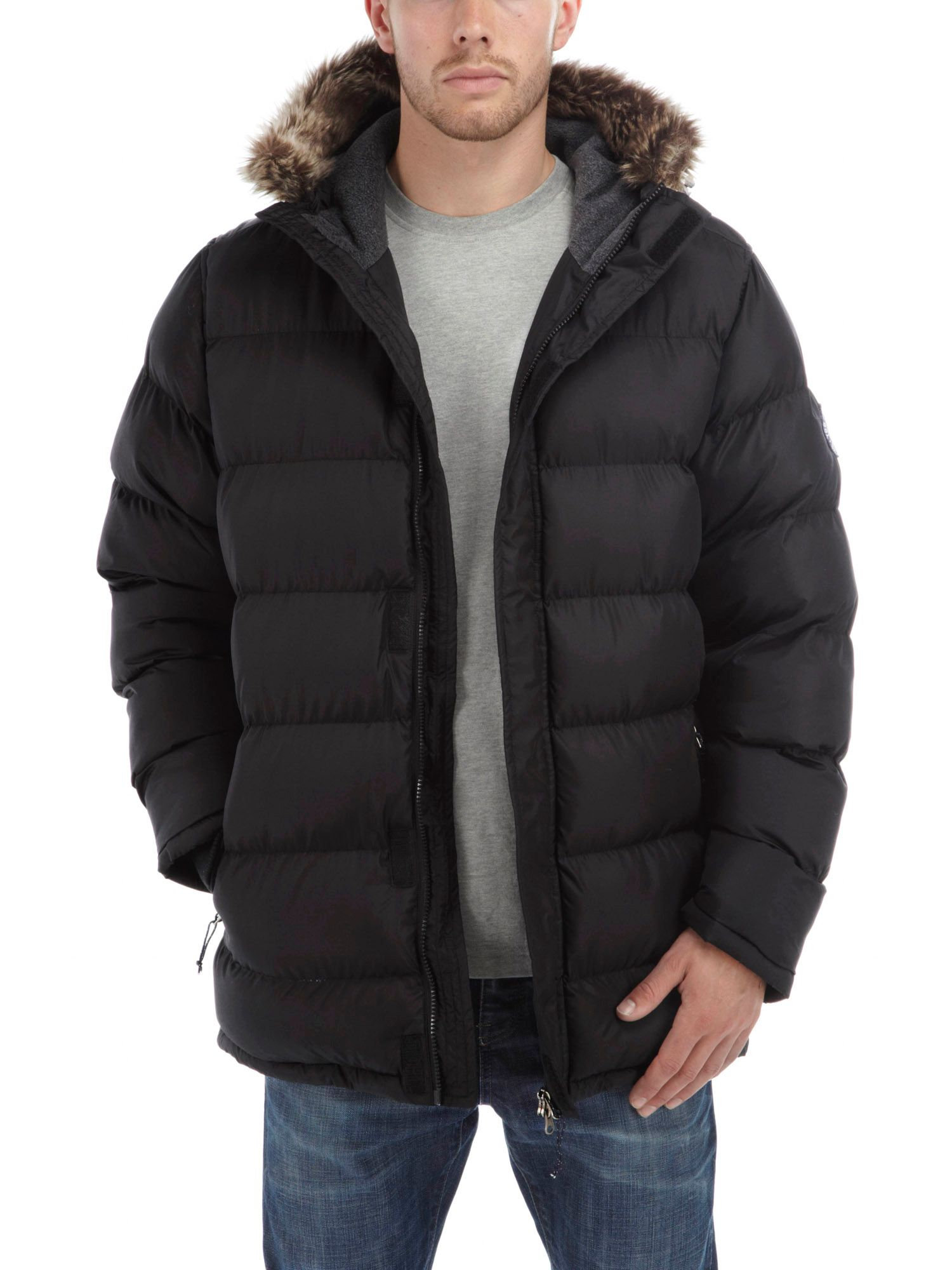 Tog 24 Fleece Frost Mens Tcz Thermal Jacket in Black for Men