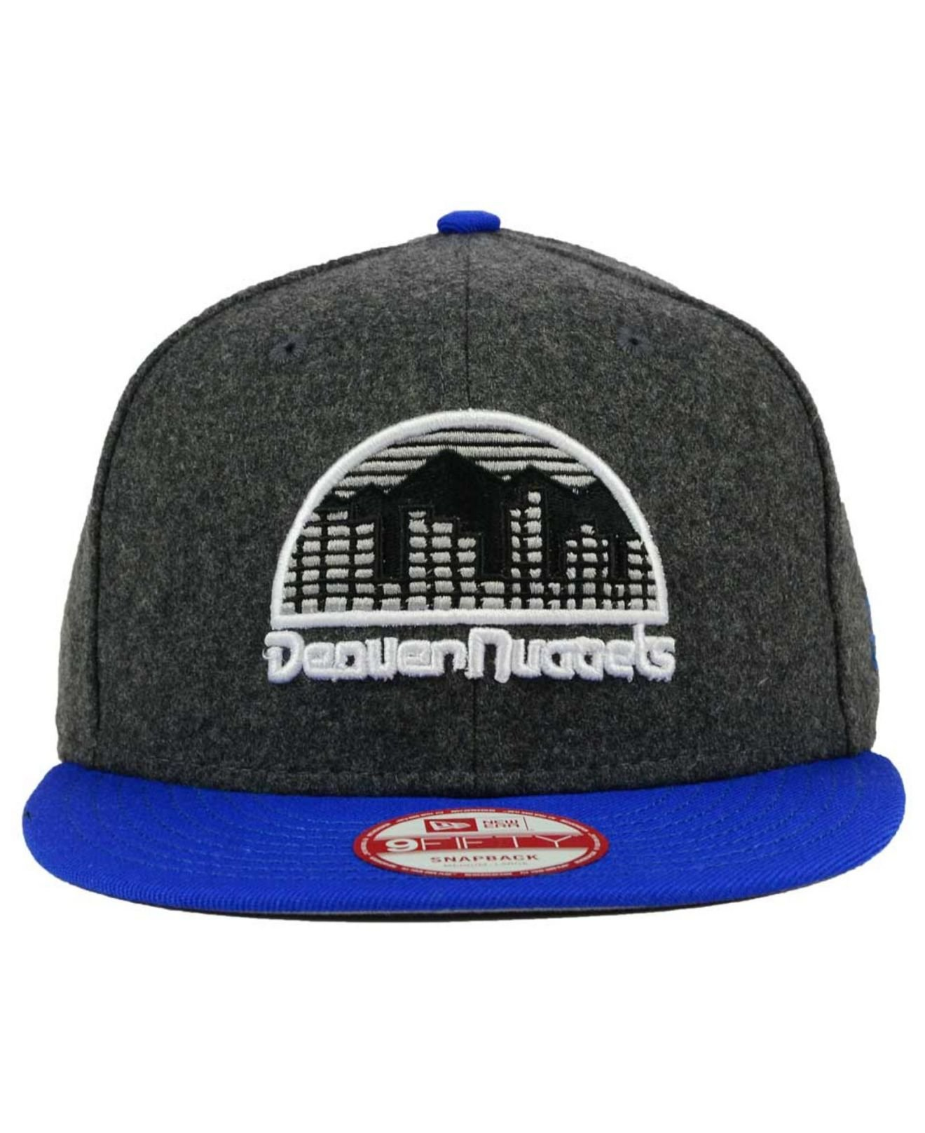 cheap for discount fc538 b20f1 Lyst - KTZ Denver Nuggets Shader Melt 9fifty Snapback Cap in Blue ...