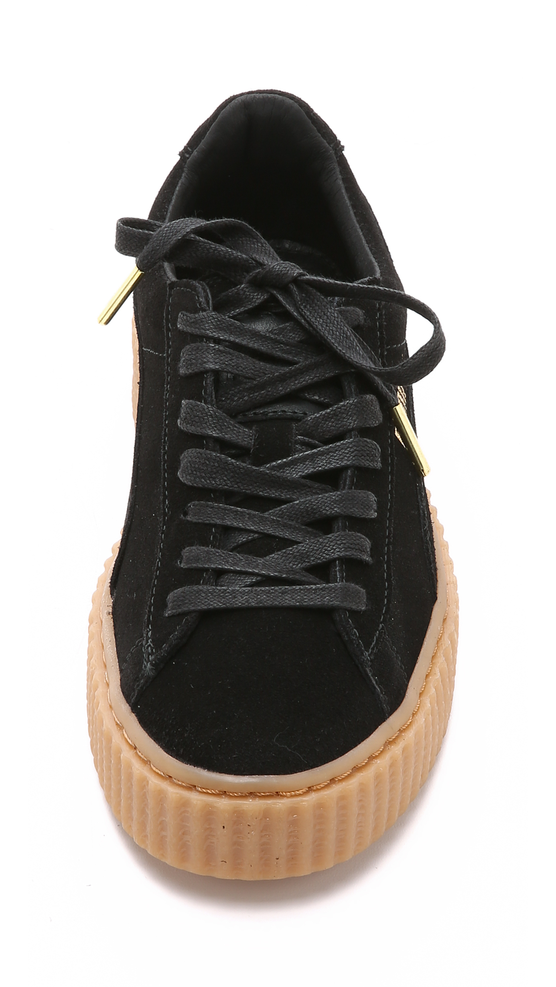 PUMA X Rihanna Creeper Sneakers - Black/gum