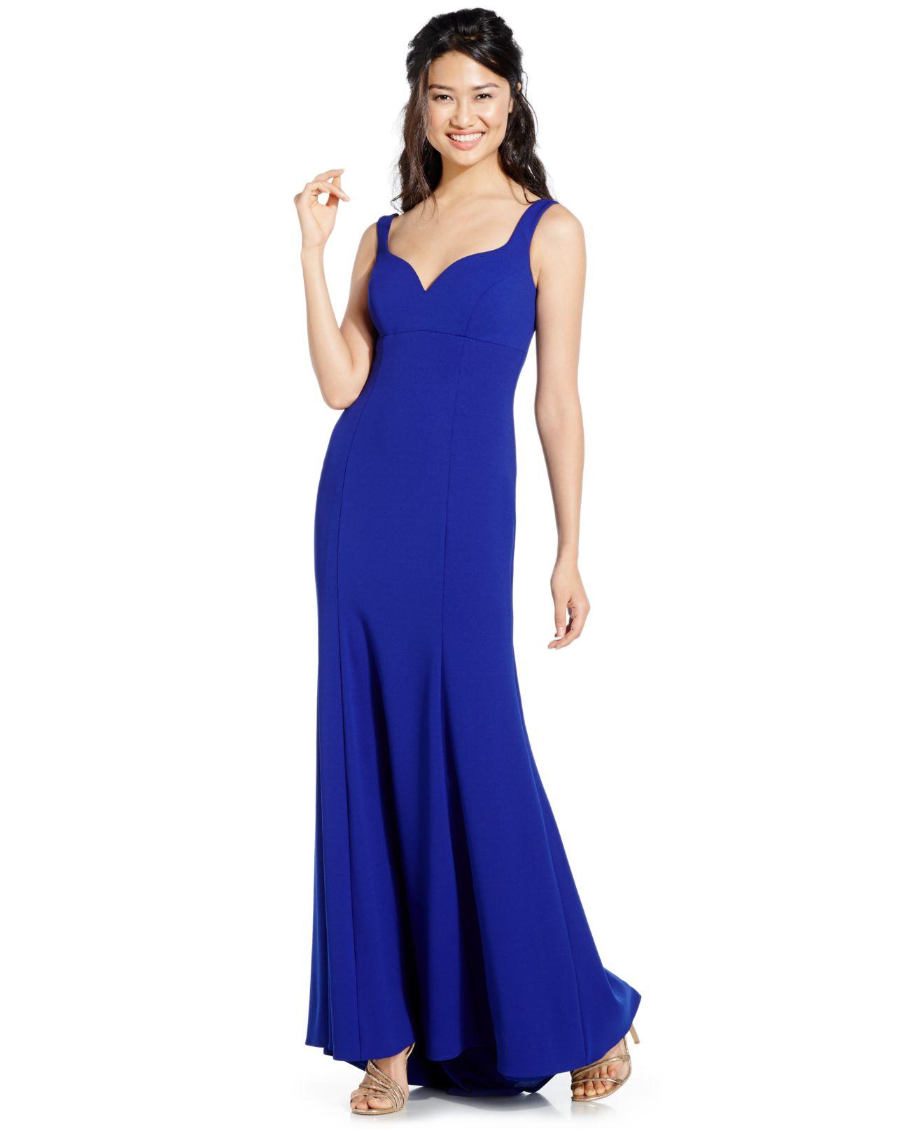 Lyst - Xscape Sleeveless Gown in Purple