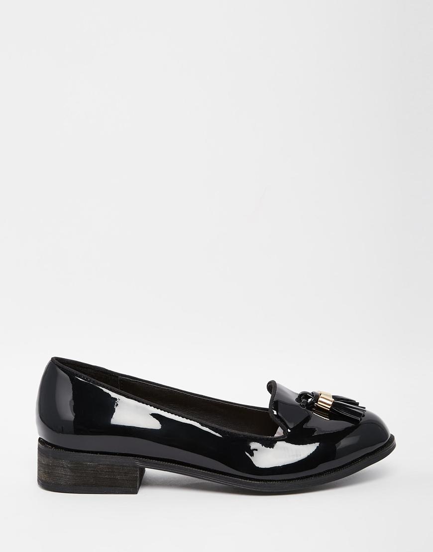 Miss Kg Knight Tassel Loafers in Black