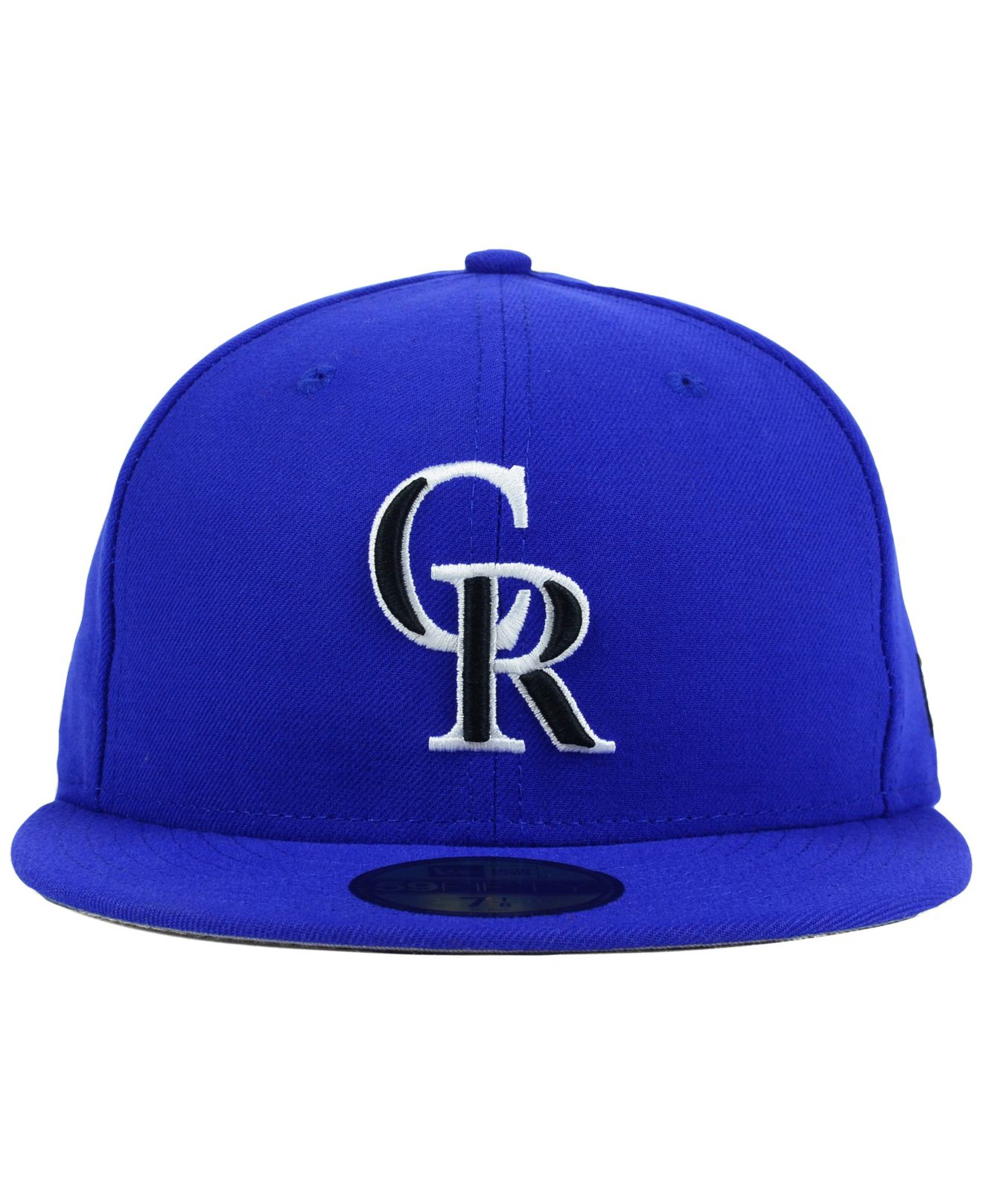 competitive price 6a30e 0af98 Lyst - KTZ Colorado Rockies C-Dub 59Fifty Cap in Blue for Men