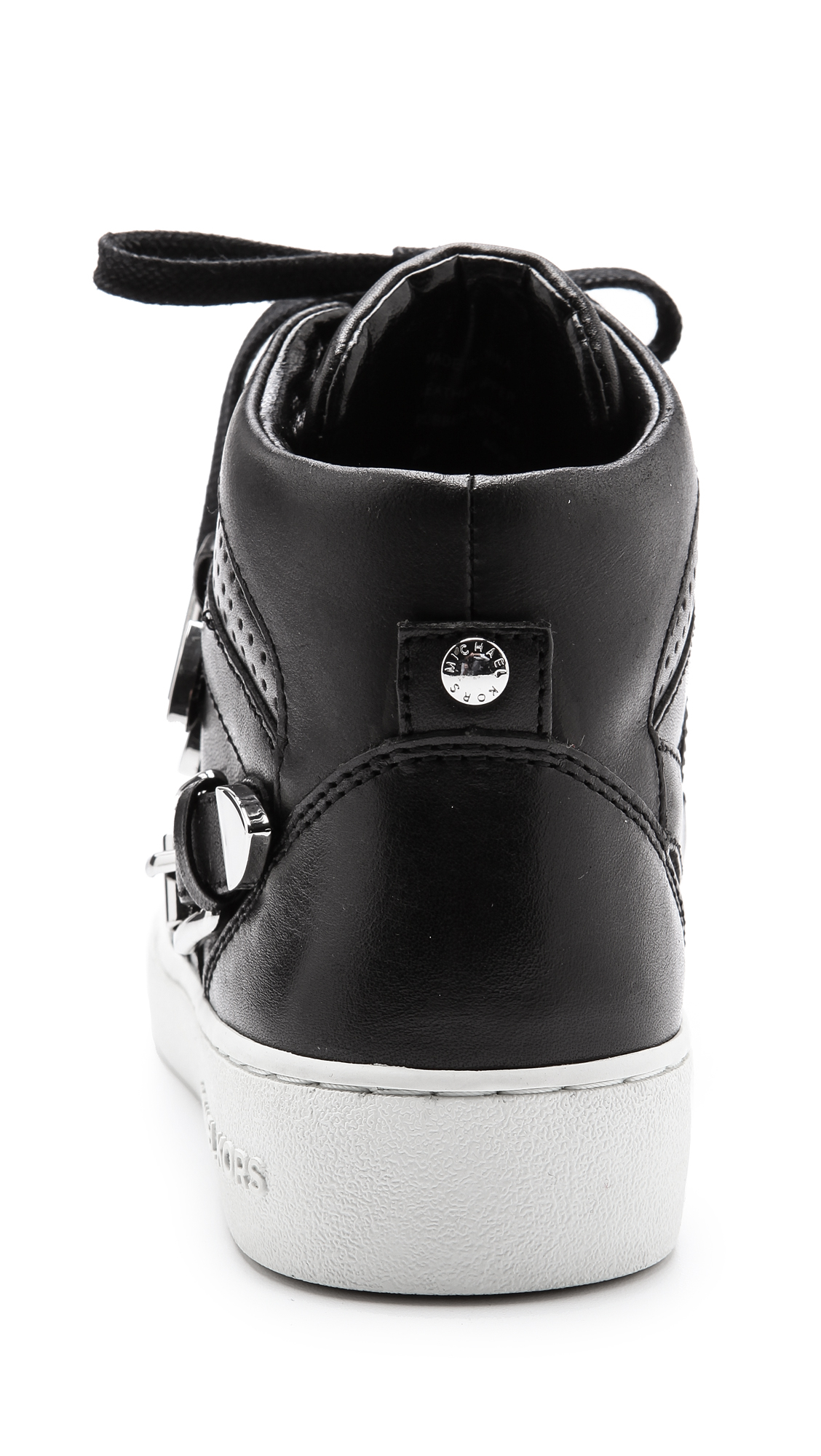 MICHAEL Michael Kors Robin High Top Sneakers Black - Lyst
