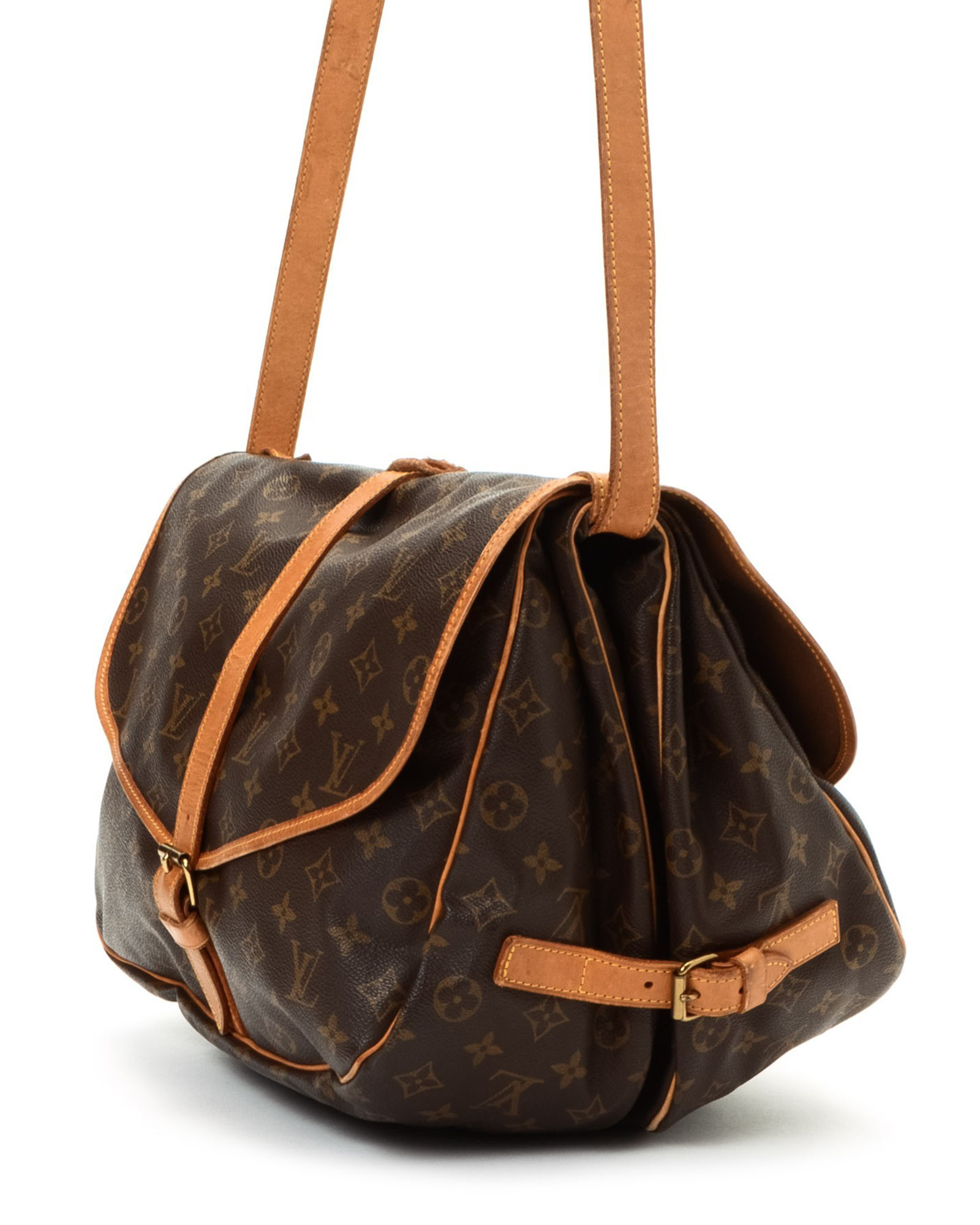 lyst louis vuitton messenger bag vintage in brown for men. Black Bedroom Furniture Sets. Home Design Ideas