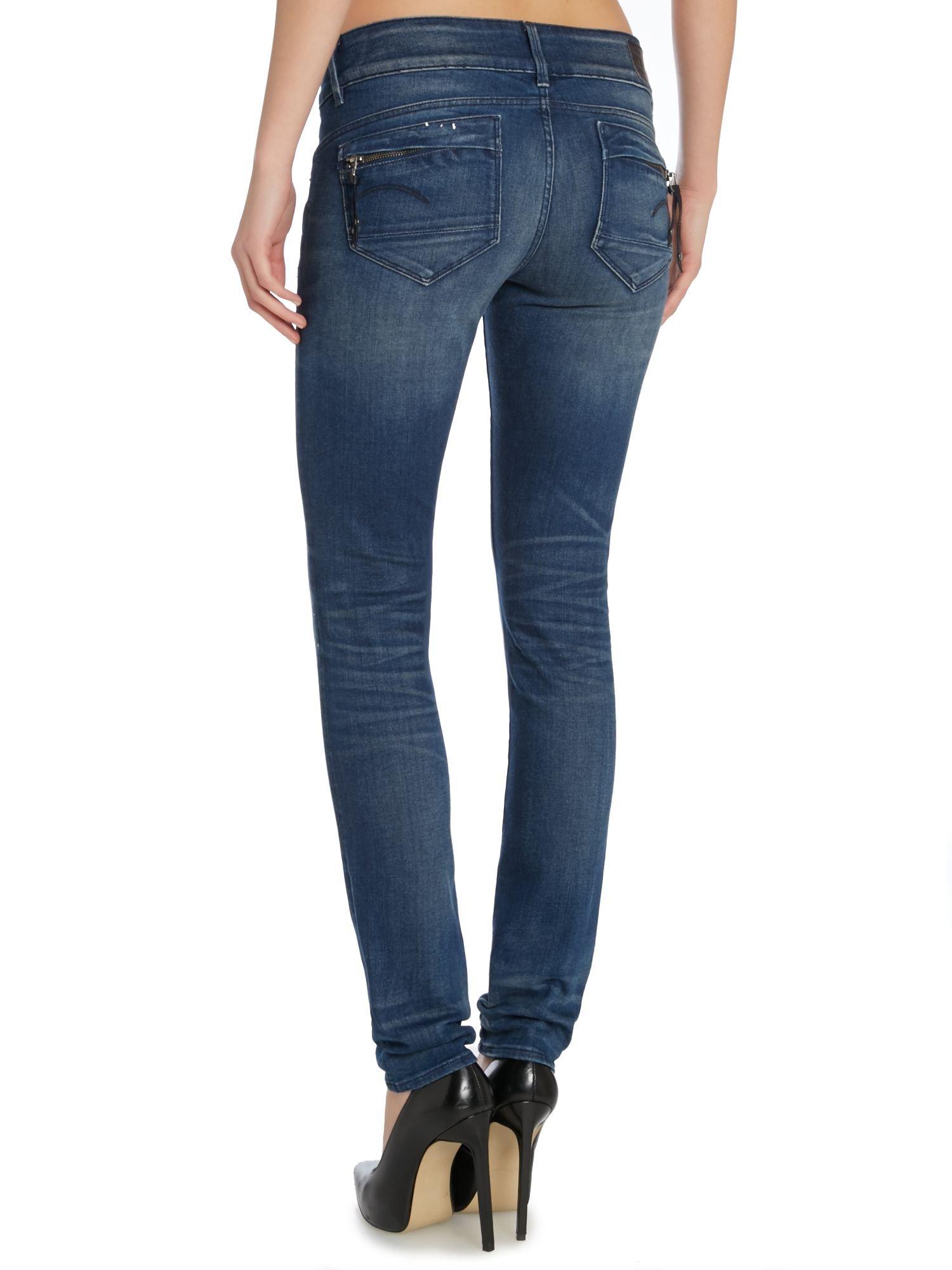 G star jeans midge cody skinny medium aged